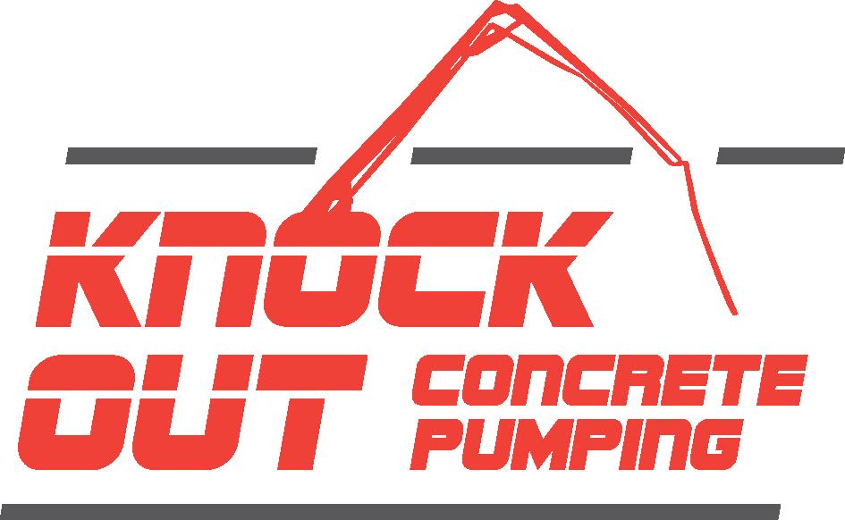 Knockout Concrete Pumping Logo